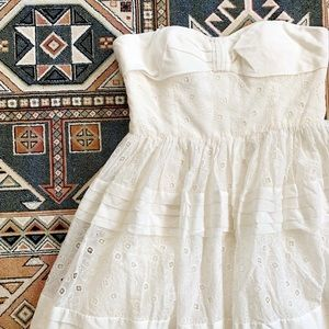 nwot bhldn | hitherto | bow tea dress